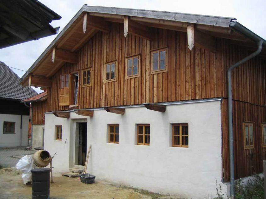Sanierung eins historischen Holzhauses