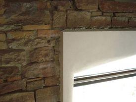 Kalkputz ziegelmauer
