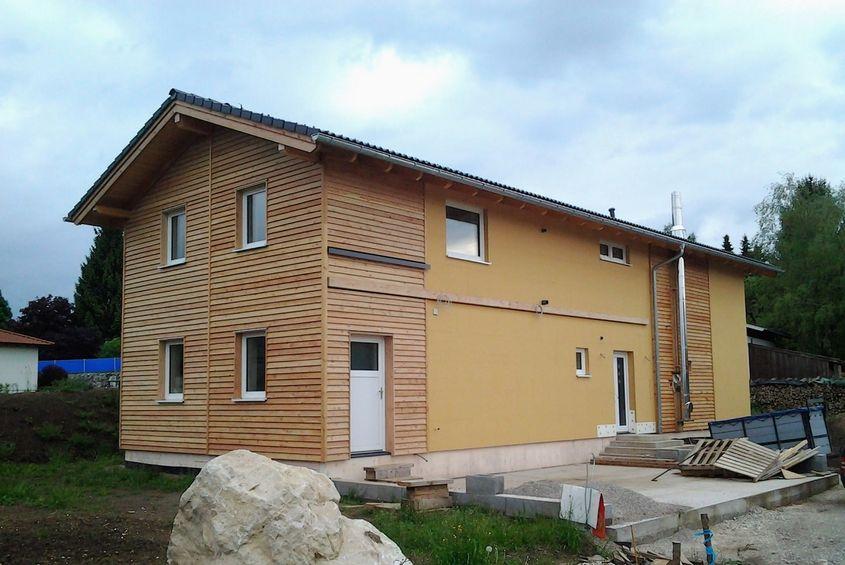 Holzrahmenhaus in Oberösterreich