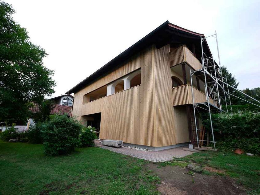 Fassadendämmung Thermohanf