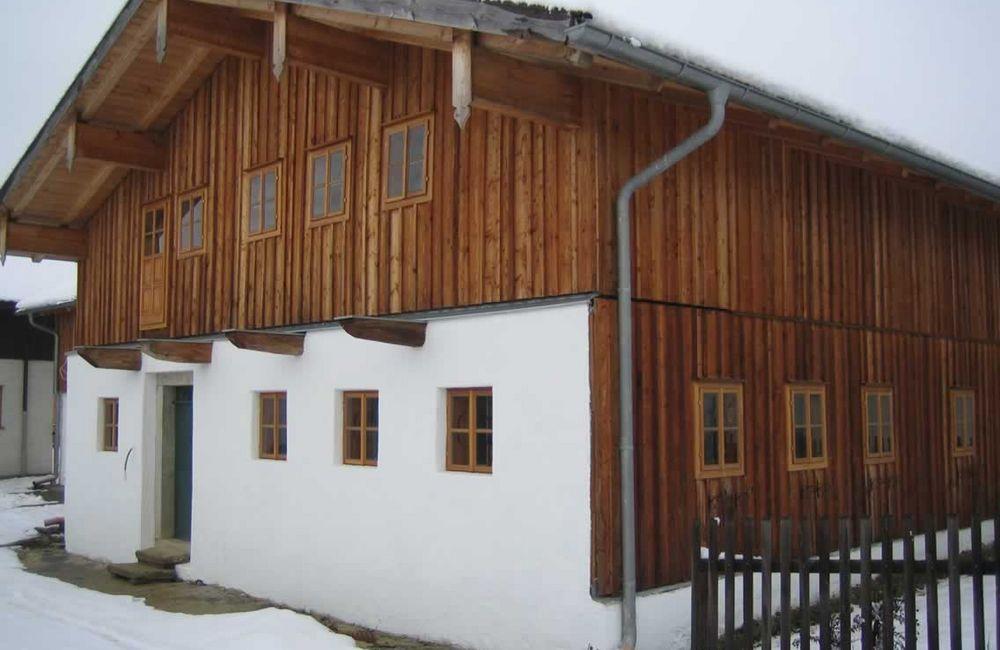 Sanierung historisches Rottaler Holzhaus