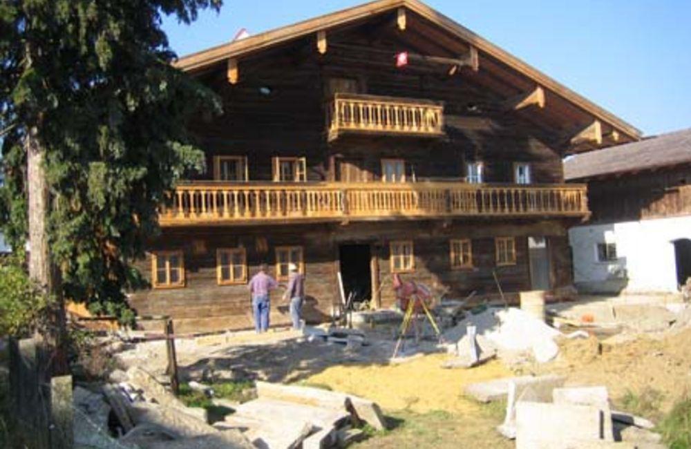 Denkmalgeschütztes Holzhaus