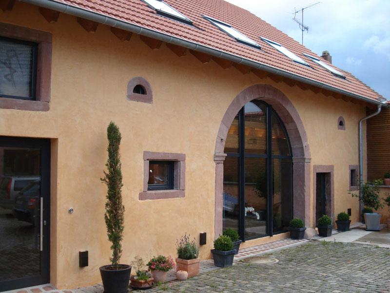 Kalkputz Fassade