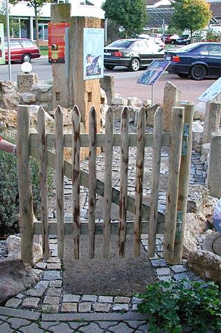Gartentür passend zu Staketenzaun