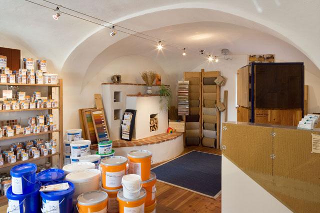 Ausstellung in Gewölbe