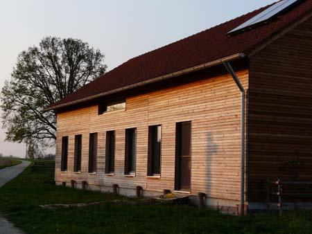 Passivhaus Holzständer
