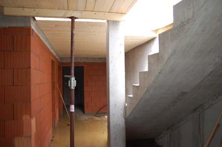 Keller mit Holzdecke