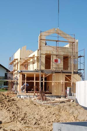 Neubau Massivholzbauweise