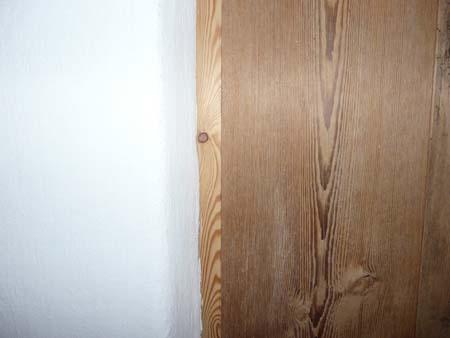 Detail Lehm und Holz