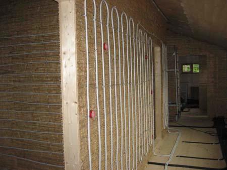 Vorbereitung Lehmputz auf Holz