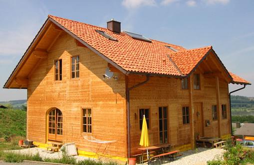 Neubau in Blockbauweise